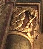 Ouroboros in St Germain des Pres